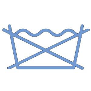 Logo Linge non lavable en machine