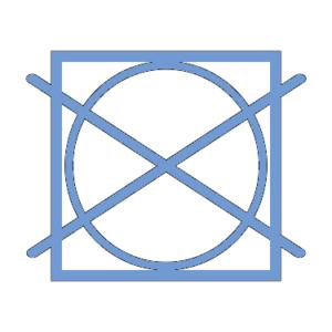Logo Linge non séchable en machine