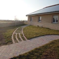 Parcours sensoriel Jardin Cantou Maison de retraite médicalisée
