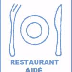RESTAURANT AIDÉ : Un espace dédié du restaurant est réservé aux résidents qui ont besoin de surveillance ou d'aide de la part des aide-soignantes pour les repas